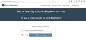 Belajar SEO Gratis : keyword anywhere5